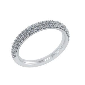14 Karat Hvidguld Ring fra Henrik Ørsnes Design med Brillanter 0,21 Carat W/SI