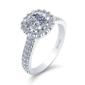 14 Karat Hvidguld Ring fra Smykkekæden med Diamanter 1,28 Carat W/SI