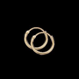 8 Karat Guld Øreringe fra Scrouples 10123