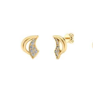 8 Karat Guld Øreringe fra Smykkekæden