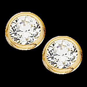 8 Karat Guld Ørestikker fra Scrouples 112043