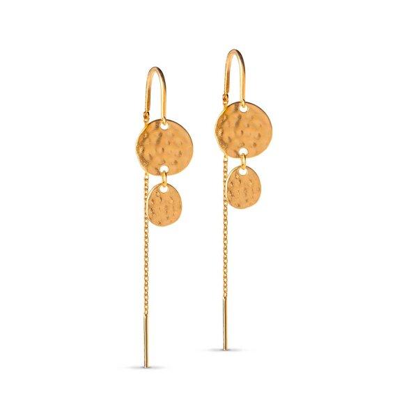 Annora Earring   Forgyldt Fra Enamel Copenhagen