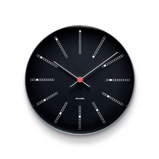 Arne Jacobsen vægur - Bankers - Vælg mellem 2 størrelser
