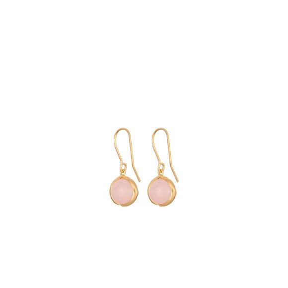 Aura Rose Earhooks | Forgyldt Fra Pernille Corydon