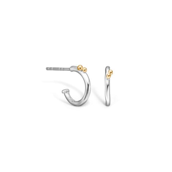 BLOSSOM øreringe i sølv Ø13