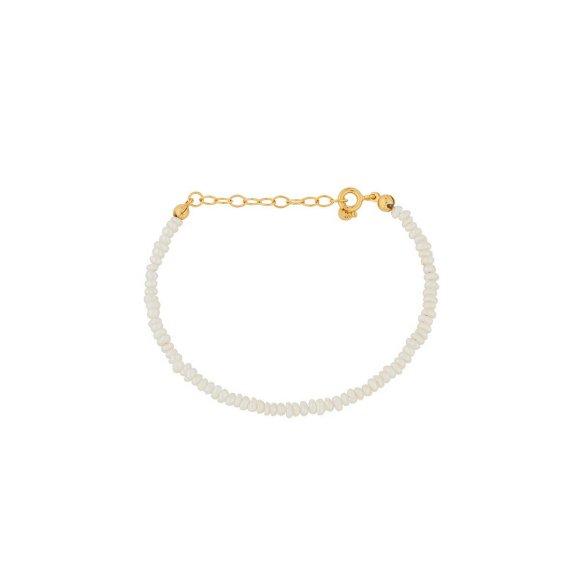 Baroque Pearl Armbånd | Forgyldt Fra Pernille Corydon