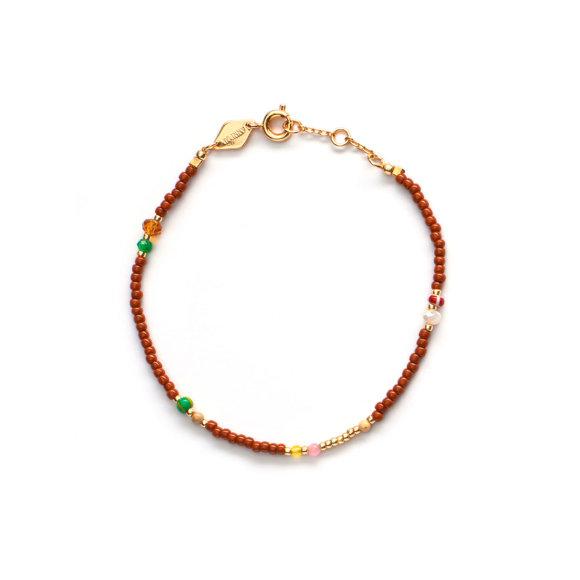 Bazaar Bracelet Autumn Leaf | Forgyldt Fra Anni Lu