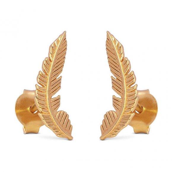 Birla Earring   Forgyldt Fra Enamel Copenhagen