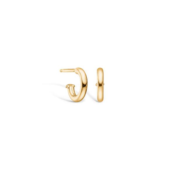 Blossom ørering i 14 kt guld, 10 mm