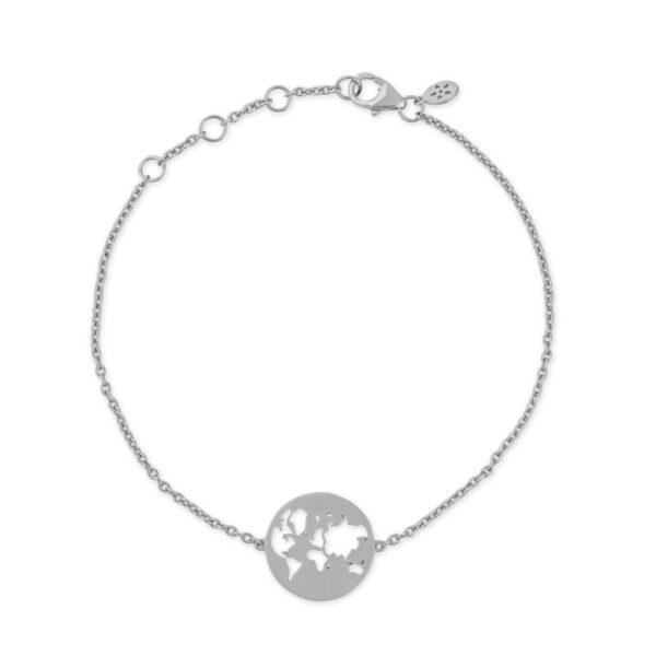 ByBiehl Beautiful World Armbånd - sølv
