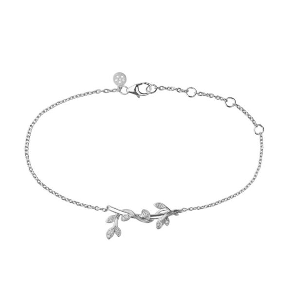 ByBiehl Jungle Ivy sølv armbånd