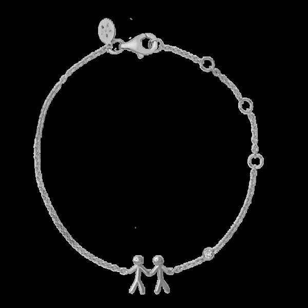 ByBiehl My Love together 2 armbånd i sølv