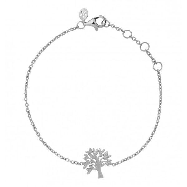 ByBiehl Tree of Life armbånd i sølv