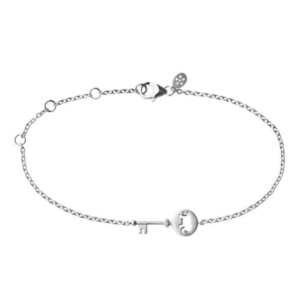 ByBiehl Unlock Strength Armbånd i sølv