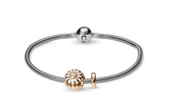 CHRISTINA Beads Bracelet kampagne - 615-G-MARGUERIT 18 centimeter
