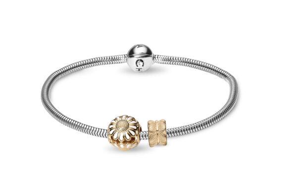 CHRISTINA Silver Bracelet Kampagne - 615-G 18 centimeter