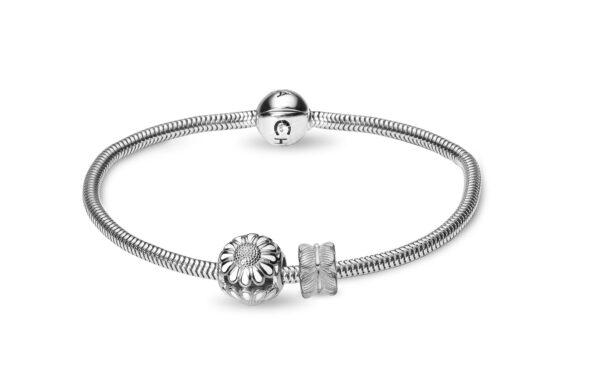 CHRISTINA Silver Bracelet Kampagne - 615-S 18 centimeter