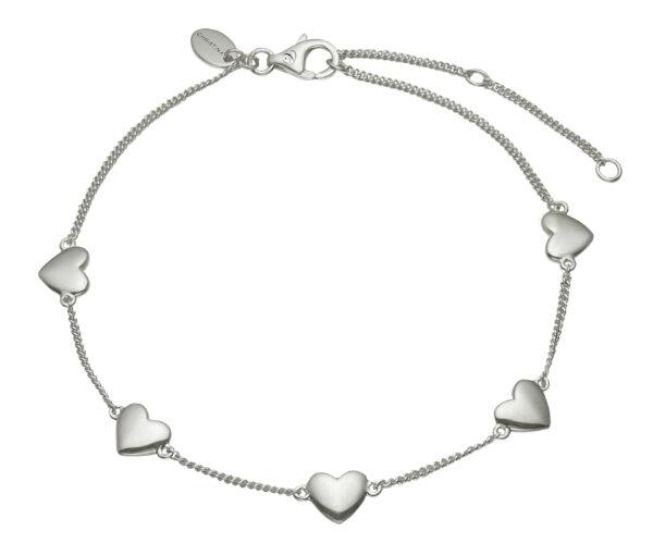 CHRISTINA Sølv Armlænke Forever Love - 601-S14
