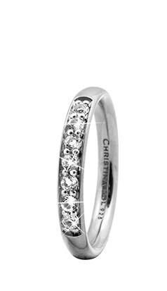 CHRISTINA Sølvring Topaz Queen - 3.7A Størrelse 49