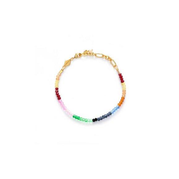 Chasing Rainbows Armbånd   Forgyldt Fra Anni Lu