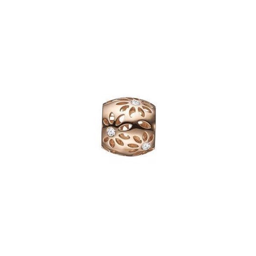 Christina Collect 14 kt. guld charm - Sparkling Flowers