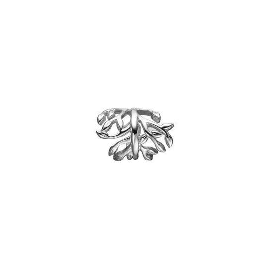 Christina Collect 14 kt. hvidguld charm - Magic Leaf