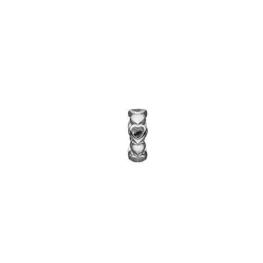 Christina Collect 14 kt. hvidguld charm - Magic Love