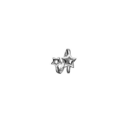 Christina Collect 14 kt. hvidguld charm - Starlight