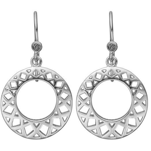 Christina Collect - Circles of happines sølv øreringe