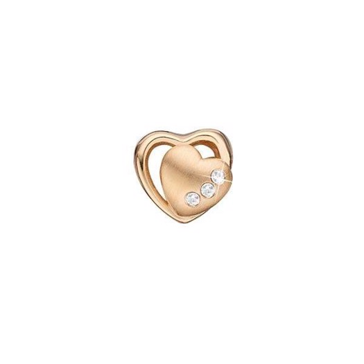 Christina Collect - Forgyldt charm 2-HEARTS