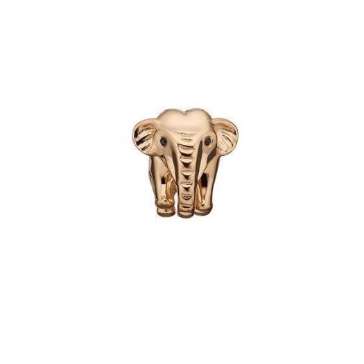 Christina Collect - Forgyldt charm ELEPHANT