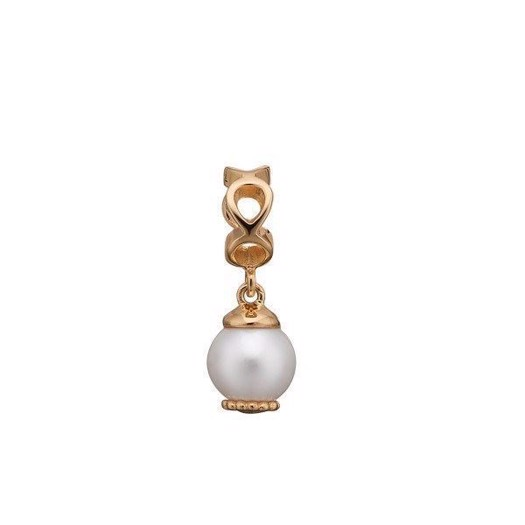 Christina Collect - Forgyldt charm MOVING PEARL