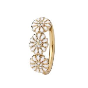 Christina Collect - Forgyldt ring MARGUERITE LOVE