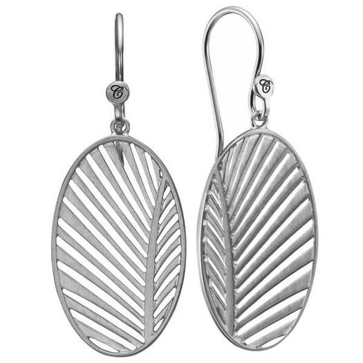 Christina Collect - MY SPECIAL PALM sølv øreringe
