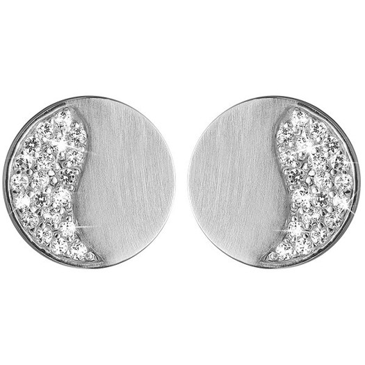 Christina Collect - Moon shine sølv øreringe