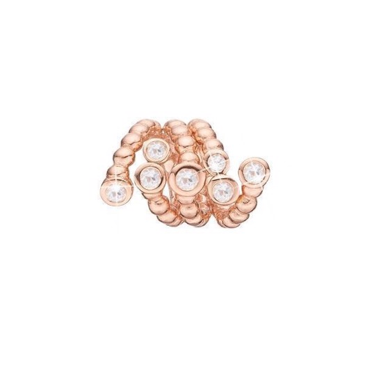 Christina Collect - Rosa forgyldt charm GALAXIES