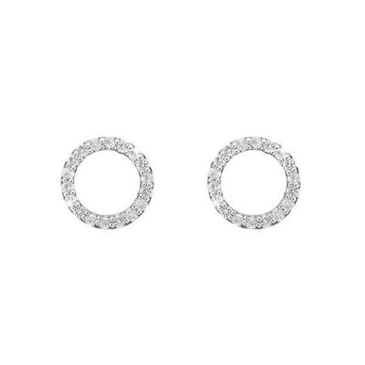 Christina Collect - Sølv ørestikker - SPARKLING CIRCLE