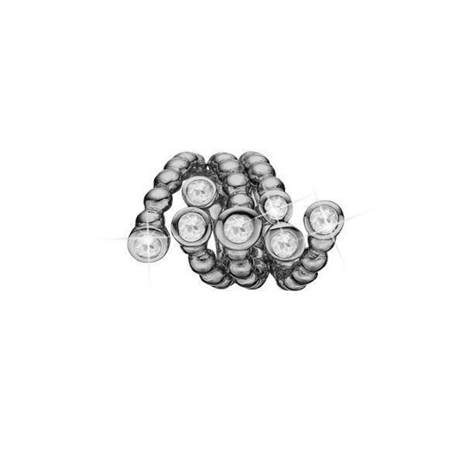 Christina Collect - Sort sølv charm GALAXIES
