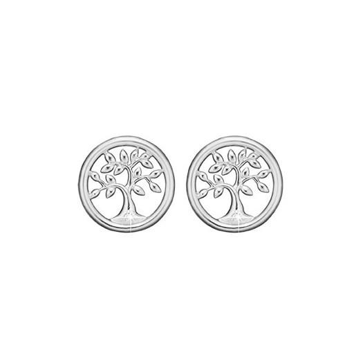 Christina Collect - Tree of life sølv ørestikker
