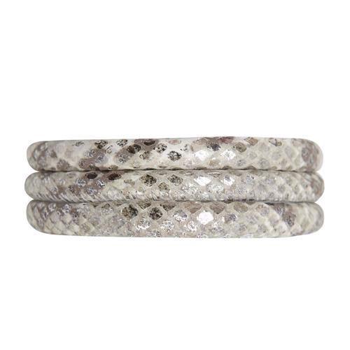 Christina Collect læder armbånd - Snake