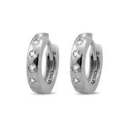 Christina Collect sølv creol - 12 mm
