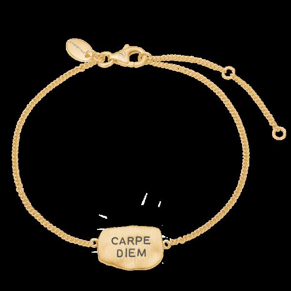 Christina Jewelry Carpe Diem armbånd i forgyldt
