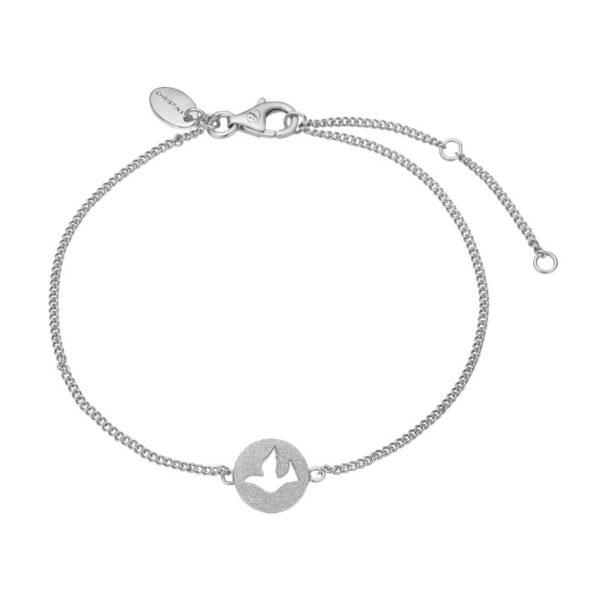 Christina Jewelry Dove of Peace armbånd i sølv