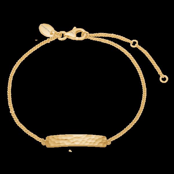 Christina Jewelry Experience armbånd i forgyldt