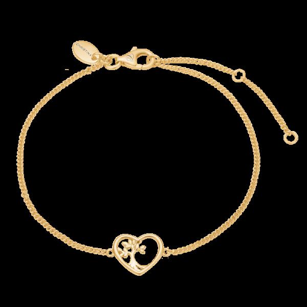 Christina Jewelry Roots of a tree armbånd i forgyldt