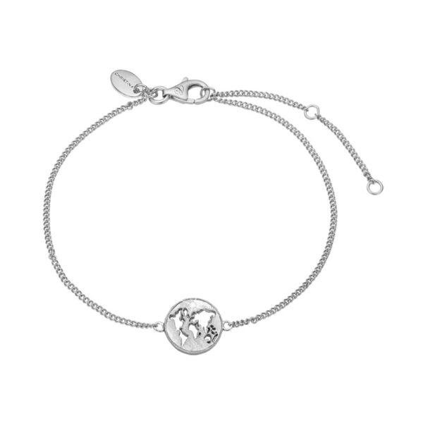 Christina Jewelry The World armbånd i sølv med topas
