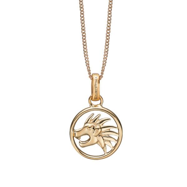 Christina Jewelry forgyldt stjernetegn løven vedhæng
