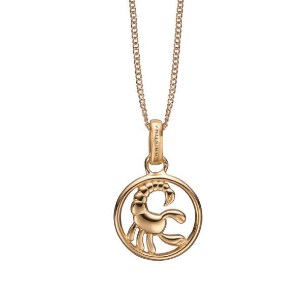Christina Jewelry forgyldt stjernetegn skorpionen vedhæng