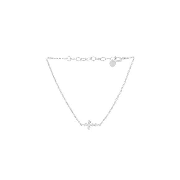 Cross Armbånd   Sølv Fra Pernille Corydon