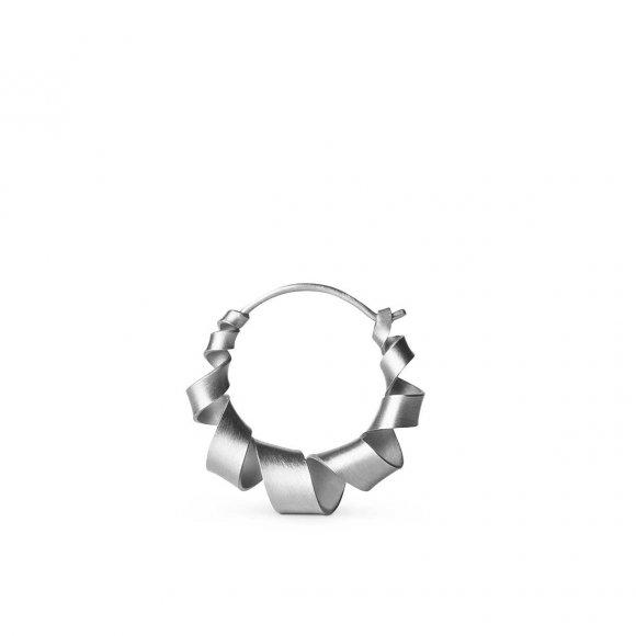Curly Hoops Øreringe Small 1 Pc | Sølv Fra Jane Kønig